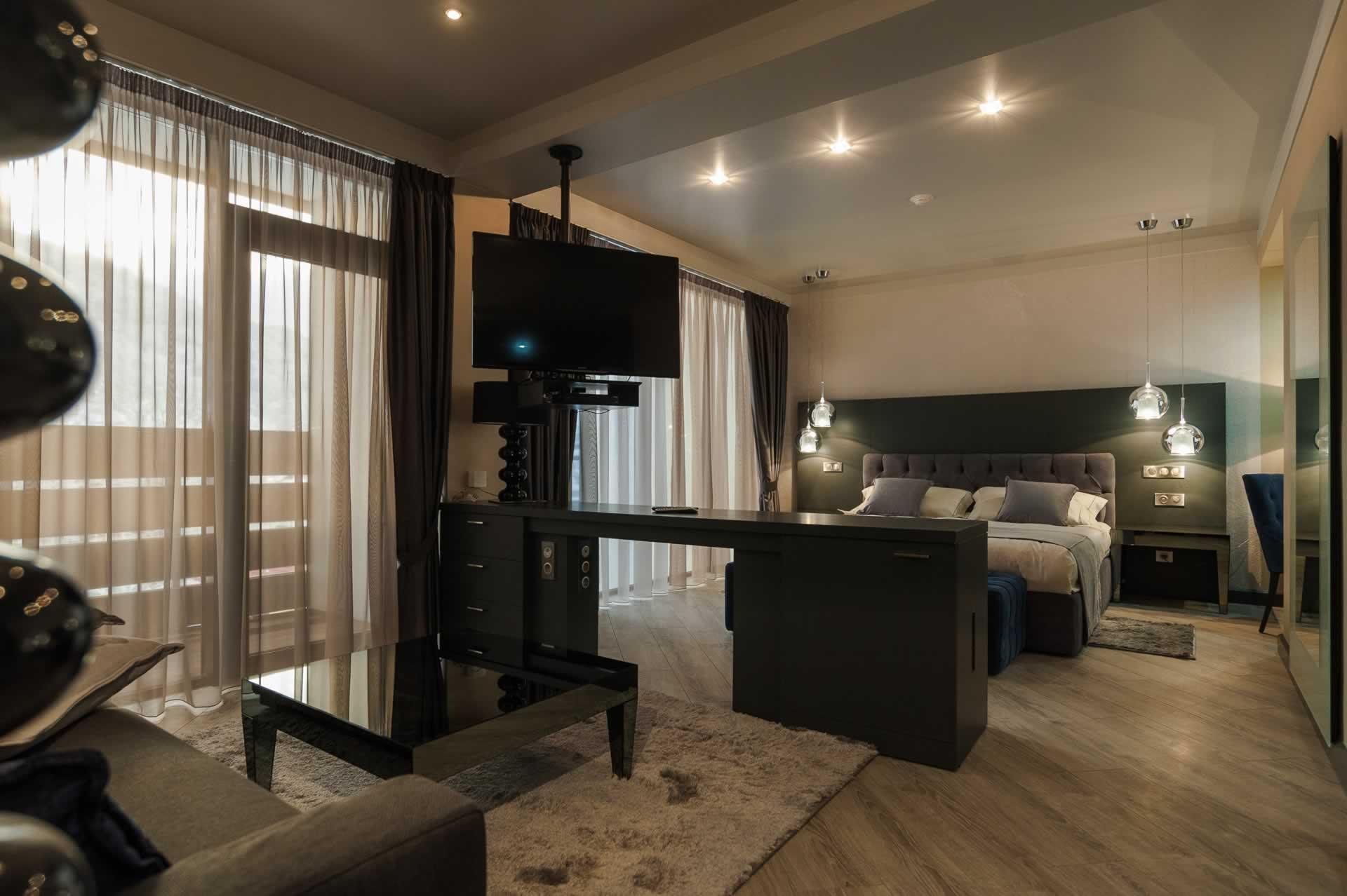 Premium Studio room interior (Adriano Hotel ****, Sochi)